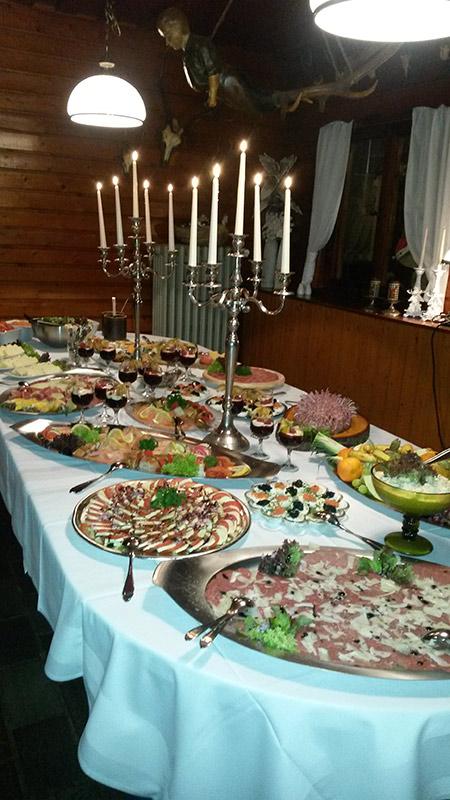Feiern im Restaurant Jagdhof Gera